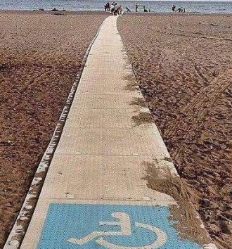 Africa's First Wheelchair Access Beach