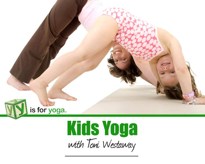 Expresso's Yoga expert Toni Westaway demonstrates yoga for kids