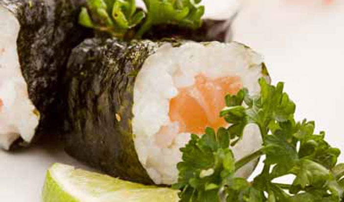 Salmon and Cucumber Roulade