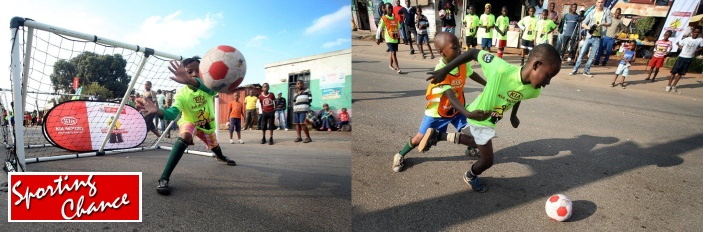 Street Soccer with Sporting Chance