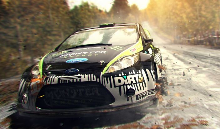 Dirt 3 on PS3 and Xbox 360 at CNA