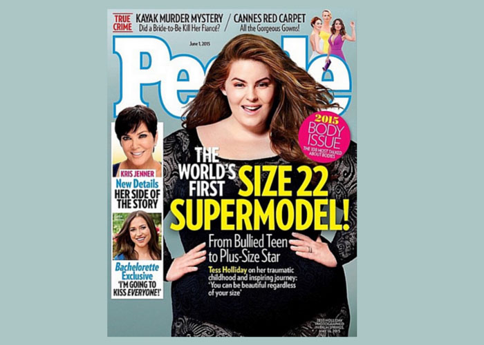 Tess Holliday People Magazine