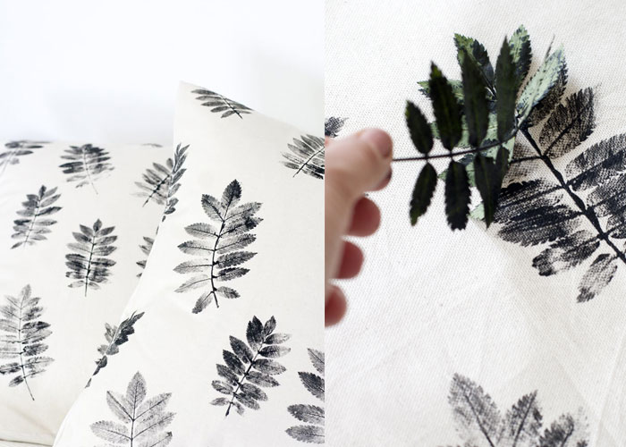 DIY Leaf Screen Printing Expresso